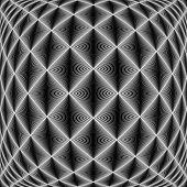 Design Seamless Diamond Trellised Pattern