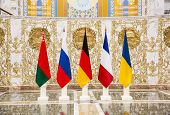 Negotiations Of Leaders Of States In Norman Format In Minsk