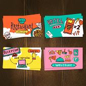 Hotel Cards Set