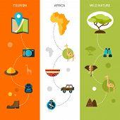 Safari Vertical Banners