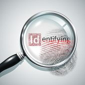 Fingerprint Search Illustration