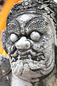 Devil Statue In Chinese Style_