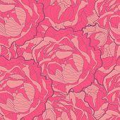 Peonies pattern