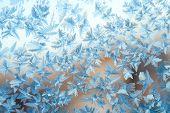 Shiny Winter Window Ice Decoration