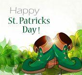 Leprechaun Shoes And Clover