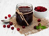 Cranberry Jam With Fresh Fruits