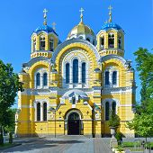 Vladimir Cathedral In Kiev