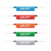 60% Off Paper Tag Labels