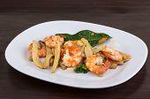 Shrimp And Corn Salad