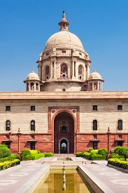 foto of rashtrapati  - Rashtrapati Bhavan is the official home of the President of India - JPG