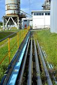 pic of bundle  - bundle of stainless steel tubes in water treatment station - JPG