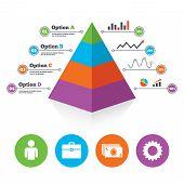 pic of human pyramid  - Pyramid chart template - JPG