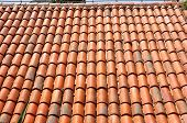 picture of roof tile  - a new roof tiles pattern - JPG