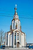 image of dnepropetrovsk  - Church on the promenade - JPG