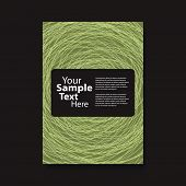 picture of swirly  - Flyer or Cover Design with Swirly Lines - JPG