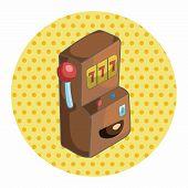 pic of slot-machine  - Casino Slot Machine Theme Elements - JPG