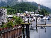 Harbor In Ketchikan, Alaska