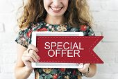 Sale Discount Promotion Special Offer Graphic Concept poster