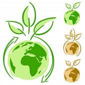 Concepto simplemente verde