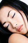 Retrato de Asian girl