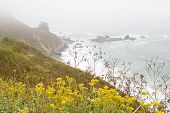 Seascape At Big Sur, California Usa - Horizontal