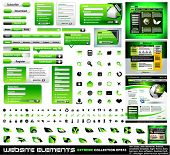 Web design elements extreme collection - frames, bars, 101 icons, bannes, login forms, buttons.4 web