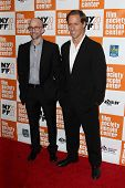 NEW YORK - OCTOBER 16: Jim Rash and Nat Faxon attend the premiere of