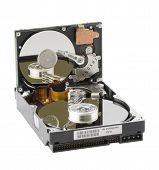 Two Computer Hard Disks