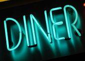 Diner lichtreclame