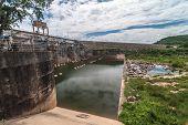 Barragem e do meio ambiente
