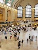 NEW YORK CITY, USA - JUNE 9: Grand Central Terminal is a commuter rail terminal station at 42nd Street and Park Avenue in Midtown Manhattan. June 9, 2012 in New York City, USA