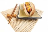 Hot Dog And Chopsticks