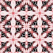 Ornamental Floral Vector Seamless Pattern. Intricate Hand Drawn Ornament. Abstract Ethnic Style Pais poster