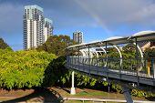 Footbridge On Broadbeach