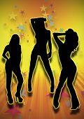 Three Hot Party Girls