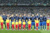Italy Football Team Players Sing The National Anthem