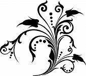 Rolagem, Cartouche, decoração