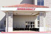 Постер, плакат: Вход больницы скорой помощи