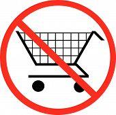 Shopping Cart Not Allowed.