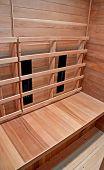 Inside A Dry Heat Sauna