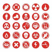 stock photo of bio-hazard  - Work protection - JPG