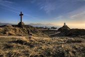 Sunset At Llanddwyn Island