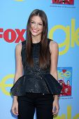LOS ANGELES - SEP 12:  Melissa Benoist arrives at the Glee 4th Season Premiere Screening at Paramoun