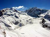 Swiss Alps Glacier