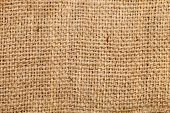 Background Of Burlap Hessian Sacking, Coarse Cloth Made ??of Linen/