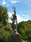 image of tehran  - Statue of an archer in Tehran Iran - JPG