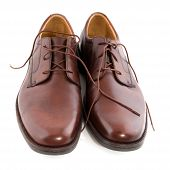 New Polished Brown Shoes poster