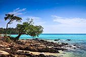 Hermoso paisaje Tropical. Isla de Phi Phi Don