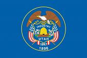 Flag of the American State of Utah