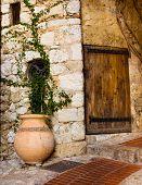 Eze Village Pot And Door